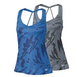 Women`s Spring Art Athletic Tennis Tank