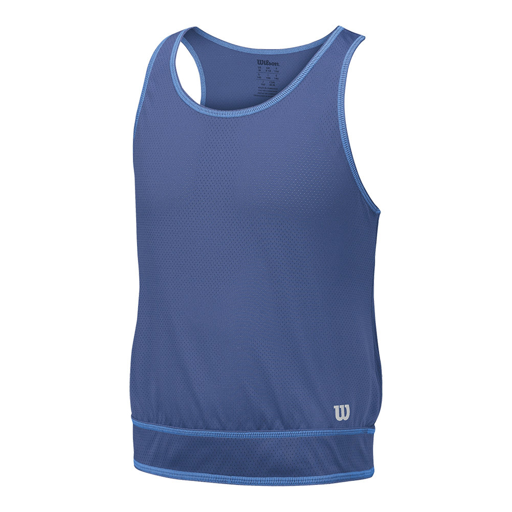 Girls'spring Mesh Tennis Tank Marlin