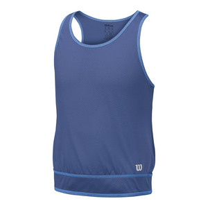 Girls` Spring Mesh Tennis Tank Marlin