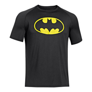 Men`s Alter Ego Batman Tee Black