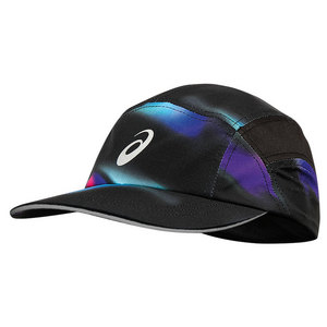 Fuzex Jockey Tennis Cap Sea Wave and Black