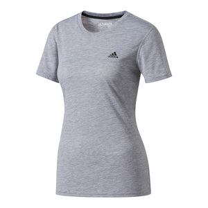 Women`s Ultimate Short Sleeve Tennis Tee Medium Gray Heather