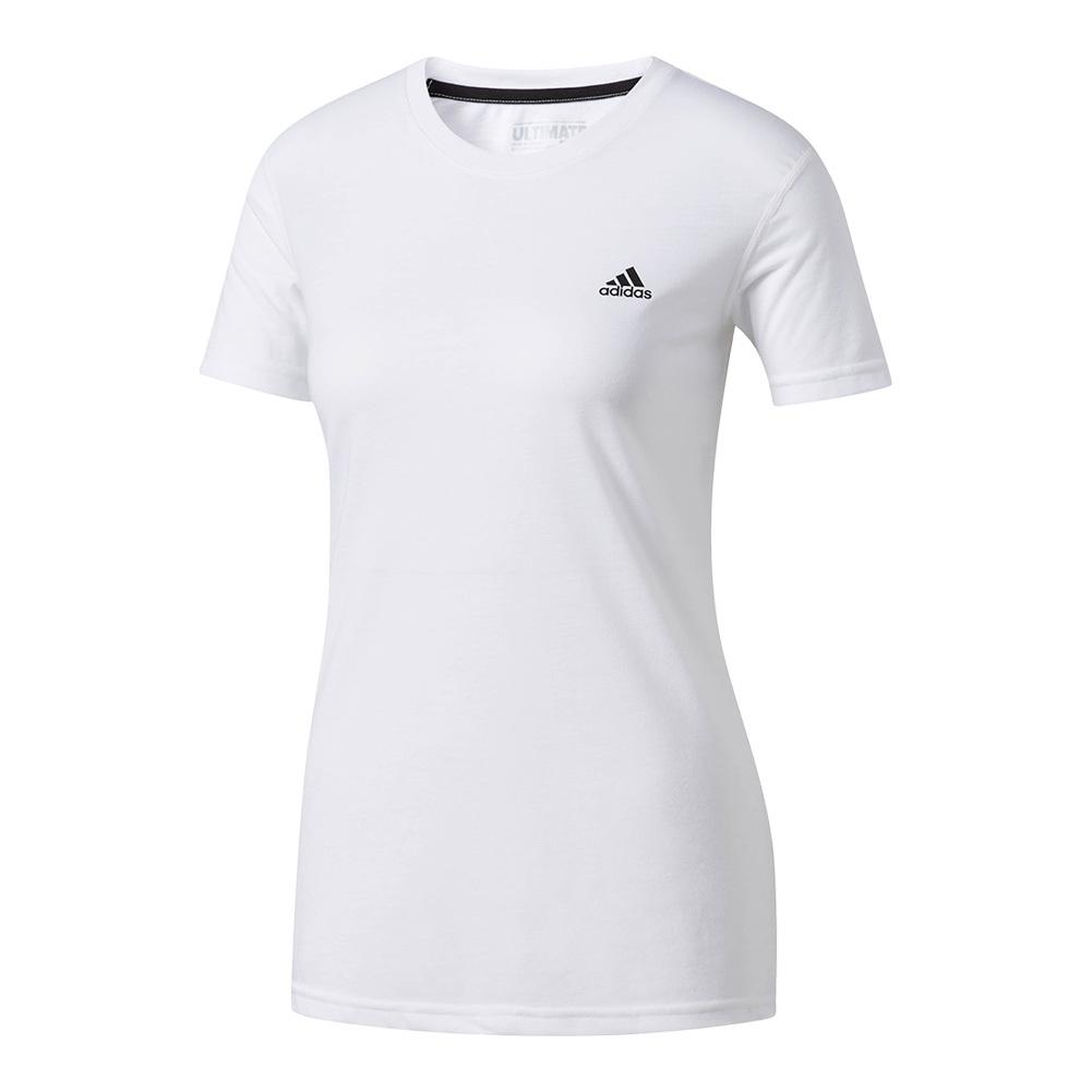 Women's Ultimate Short Sleeve Tennis Tee White