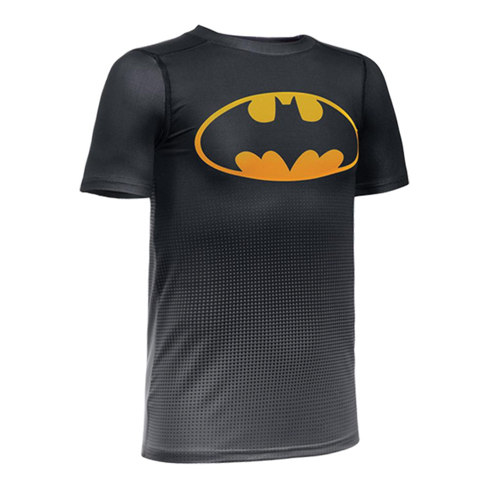Boys ` Baselayer Batman Tee Black