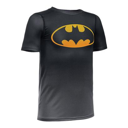 Boys` Baselayer Batman Tee Black