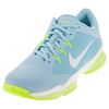 NIKE Women`s Air Zoom Ultra Tennis Shoes Still Blue and White
