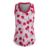 JOFIT Women`s Volley Tennis Tank Cherry Print