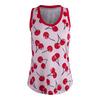 JOFIT Women`s Volley Tennis Tank Cherry Print