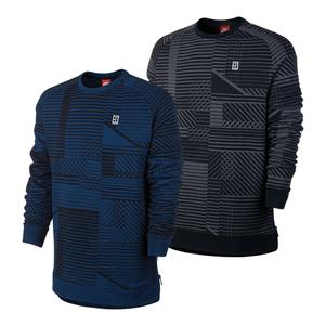 Men`s Court Long Sleeve Tennis Top