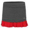 SOFIBELLA Women`s 14 Inch Tennis Skort Steel and Red