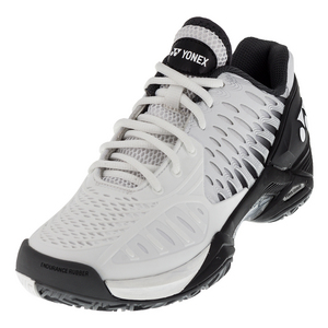 Men`s Power Cushion Eclipsion Tennis Shoes White and Black