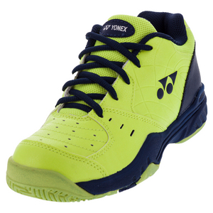 Juniors` Power Cushion Eclipsion Tennis Shoes Yellow and Navy