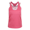 BOLLE Women`s Valentina Racerback Tennis Tank Floral Pink