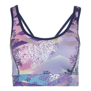 Women`s Power Play Tennis Bra Thika Print