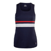 Women`s Heritage Full Coverage Tennis Tank 412_NAVY/WHITE