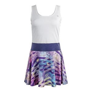 Women`s Competitor Tennis Dress Thika Print and White