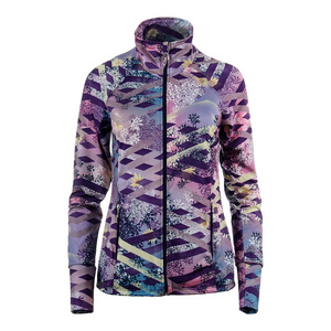 Women`s Finish Line Tennis Jacket Thika Print