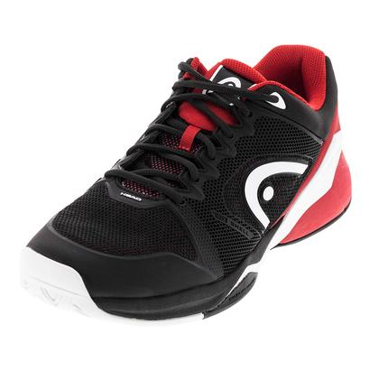Men`s Revolt Pro 2.0 Tennis Shoes Raven and Red