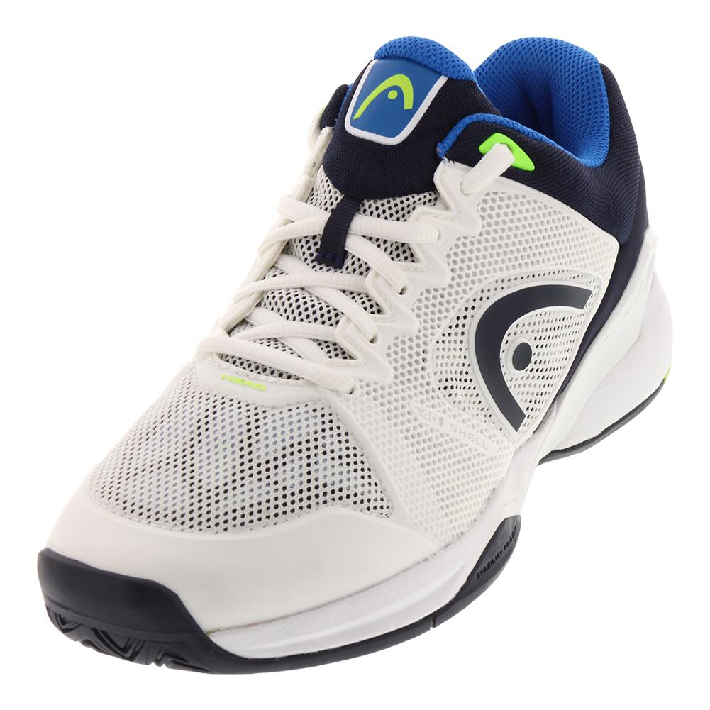 Men's Revolt Pro 2.0 Tennis Shoes White And Blue