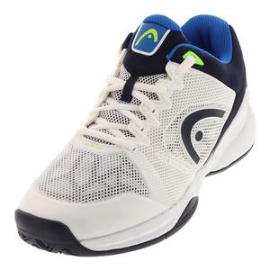 Men`s Revolt Pro 2.0 Tennis Shoes White and Blue