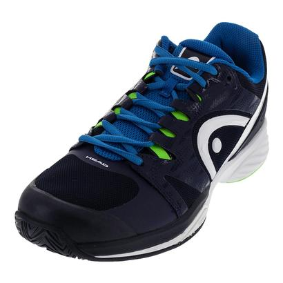 Men`s Nitro Pro Tennis Shoes Navy and Ocean Blue