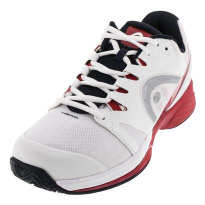 Men`s Nitro Pro Tennis Shoes White and Red