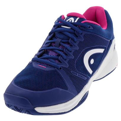 Women`s Revolt Pro 2.0 Tennis Shoes Navy and Pink