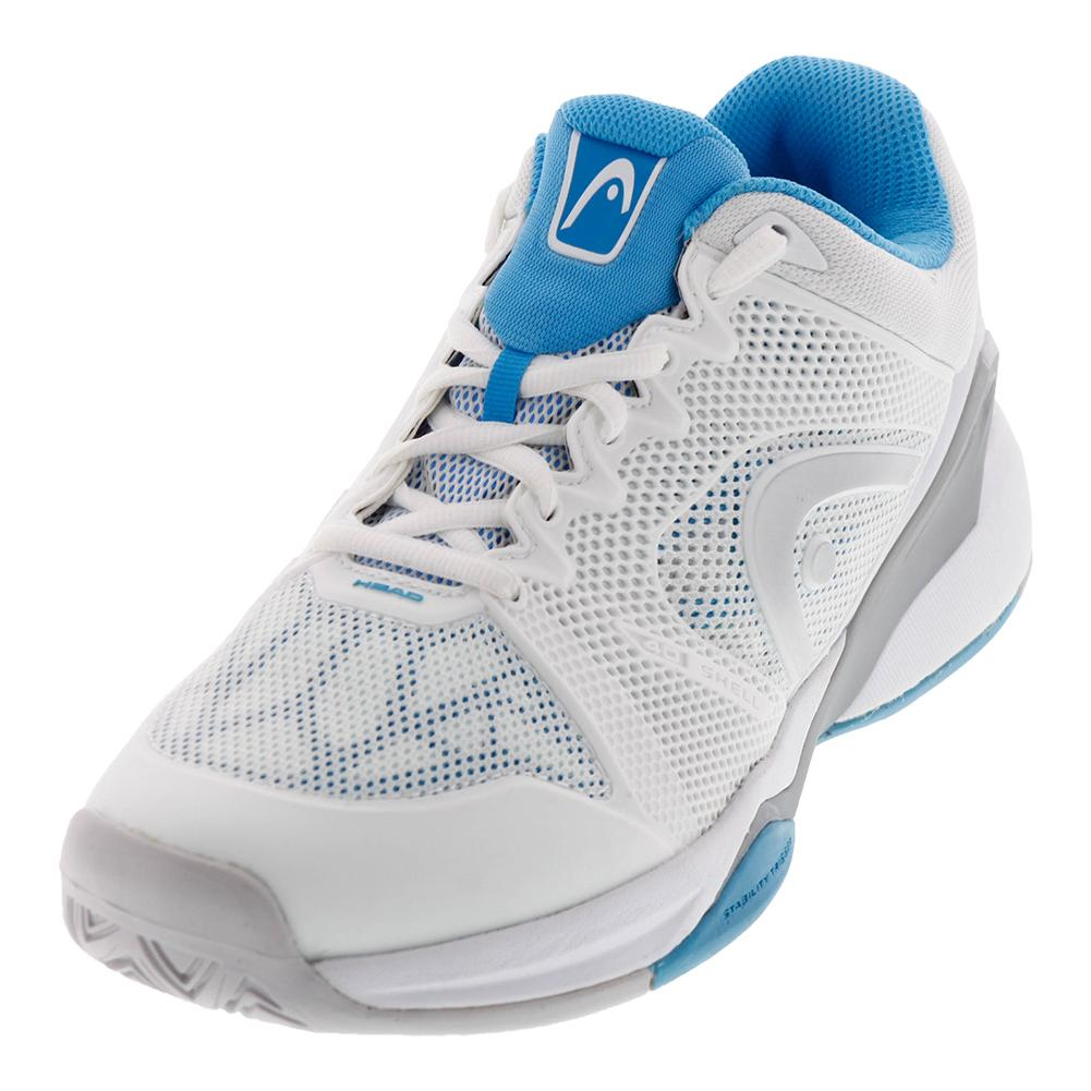 Women's Revolt Pro 2.0 Tennis Shoes White And Blue