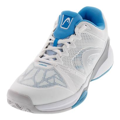 Women`s Revolt Pro 2.0 Tennis Shoes White and Blue