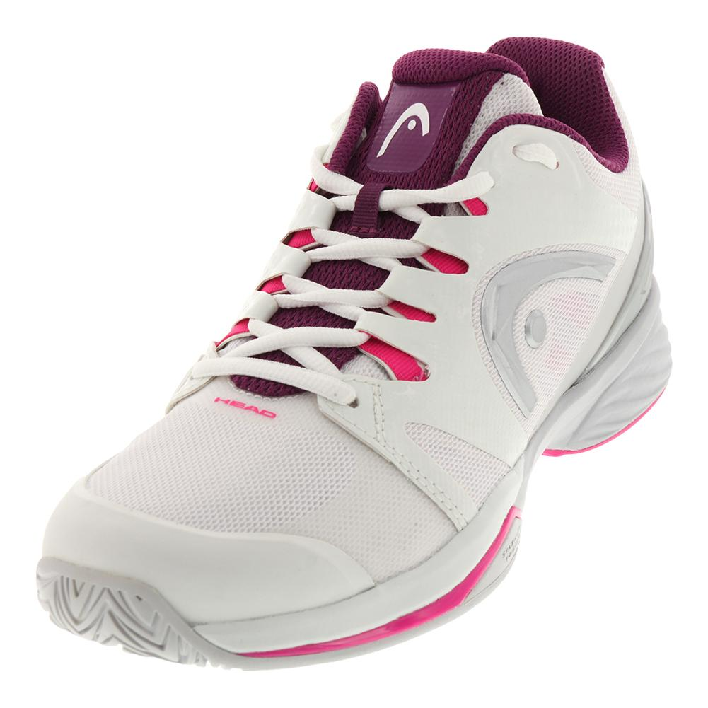 Women's Nitro Pro Tennis Shoes White And Purple