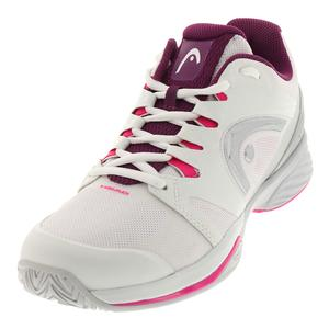 Women`s Nitro Pro Tennis Shoes White and Purple