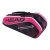 Tour Team 6R Combi Tennis Bag NAVY/PINK