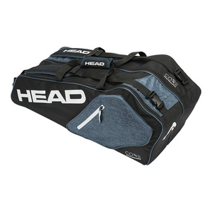 Core 6R Combi Tennis Bag Black and Blue