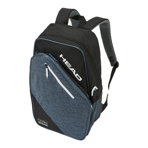 Core Tennis Backpack Black and Blue