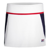FILA Women`s Heritage Tennis Skort White and Navy