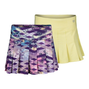 Women`s 13 Inch Flutter Tennis Skirt