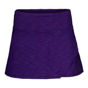 Women`s 13 Inch Fly Tennis Skirt Purple