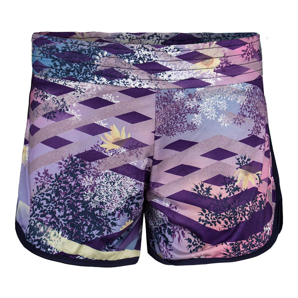Women's Tennis Third And Short Thika Print