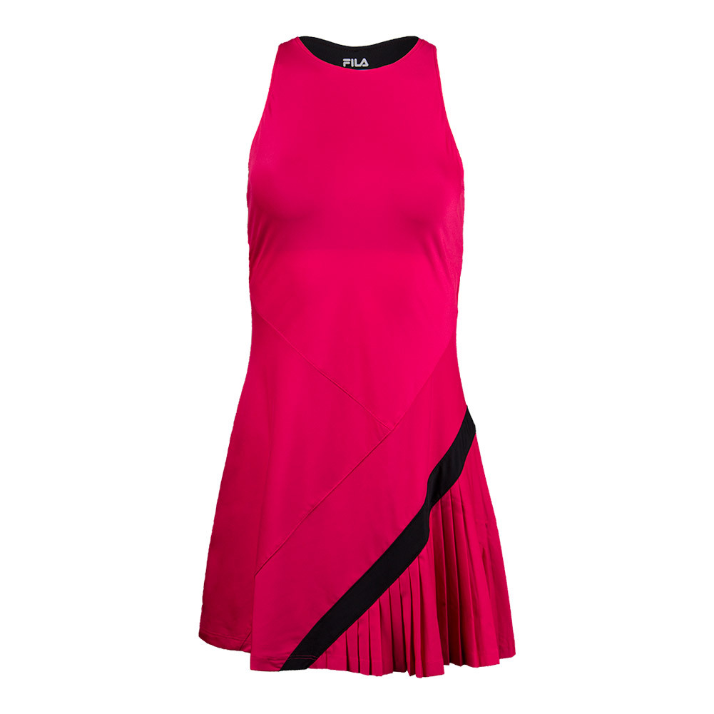 Women's Sleek Tennis Dress Ruby Rose And Black