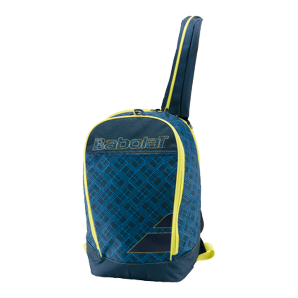 Club Classic Tennis Backpack Blue And Yellow