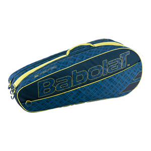 Club 6 Pack Classic Tennis Bag Blue and Yellow