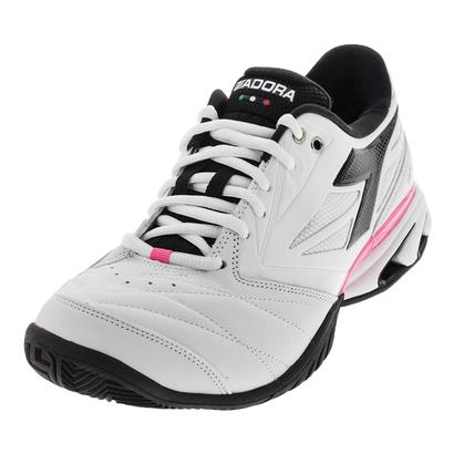 Women`s S Star K VII AG Tennis Shoes White and Black