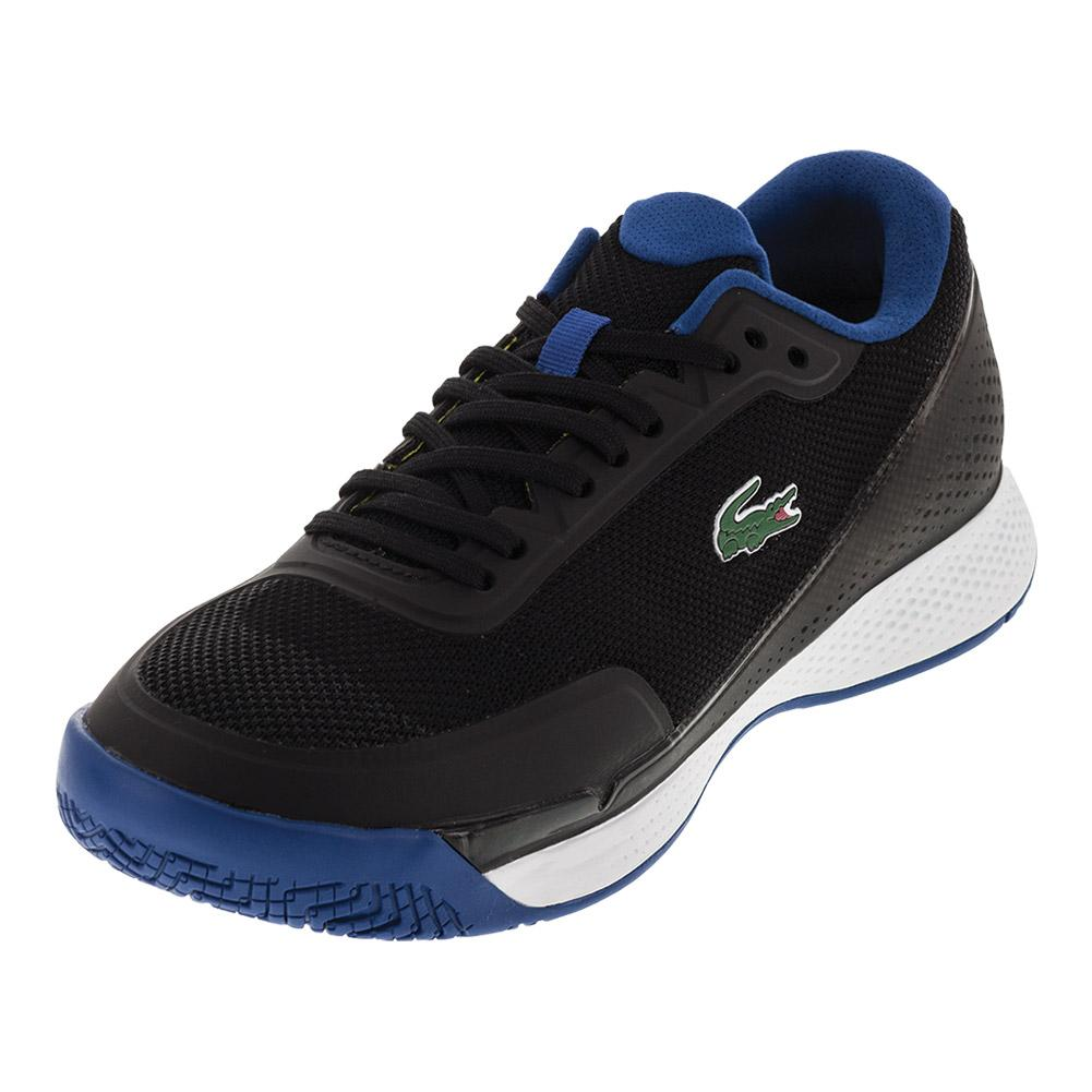 Men's Lt Pro 117 Tennis Shoes Black And Blue