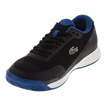 Men`s Lt Pro 117 Tennis Shoes Black and Blue