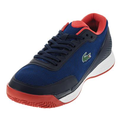 Men`s Lt Pro 117 Tennis Shoes Blue and Red