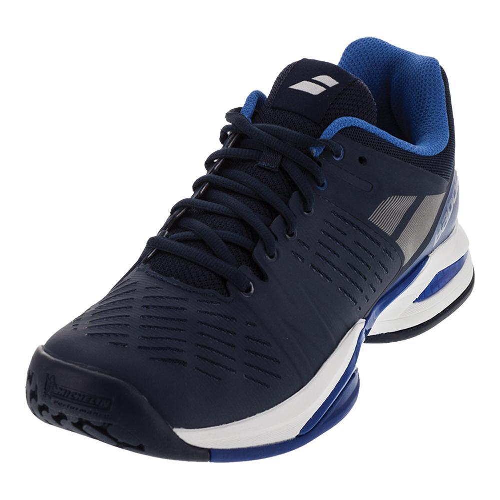 Men's Propulse Team All Court Tennis Shoes Dark Blue