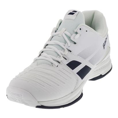 Men`s SFX All Court Tennis Shoes White and Blue