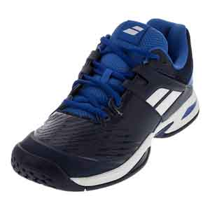 Juniors` Propulse All Court Tennis Shoes Dark Blue