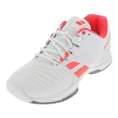 Women`s SFX All Court Tennis Shoes White and Pink