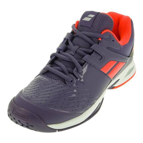 Juniors ` Propulse All Court Tennis Shoes Purple And Pink